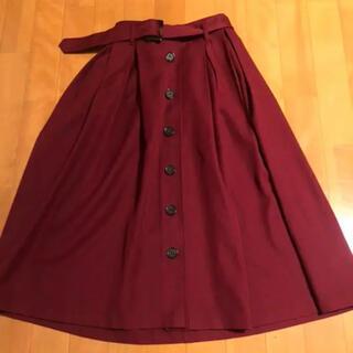 アラマンダ(allamanda)のトレンチスカート(ひざ丈スカート)