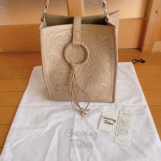 GRACE CONTINENTAL - 美品 カービングトライブス カービングバッグ