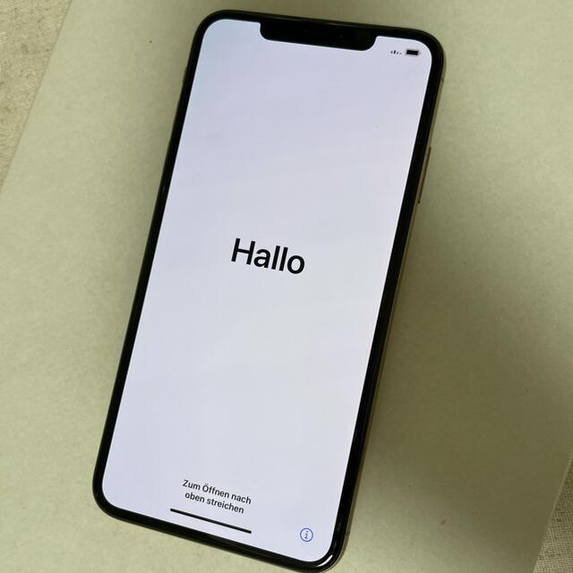 Apple(アップル)のiPhone Xs Max  512GB ゴールド スマホ/家電/カメラのスマートフォン/携帯電話(スマートフォン本体)の商品写真