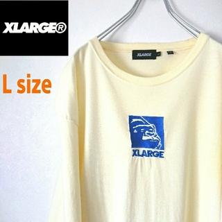 XLARGE - XLARGE エクストララージ  ロンT センター刺繍ロゴ カットソー Tシャツ
