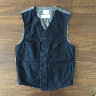 Engineered Garments - BONCOURA モールスキン ワークジレ size 38