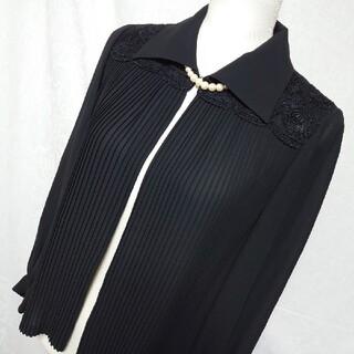 ソワール(SOIR)の美品 東京ソワール 喪服、礼服、ブラックフォーマルの上着、シャツブラウス 13号(シャツ/ブラウス(長袖/七分))