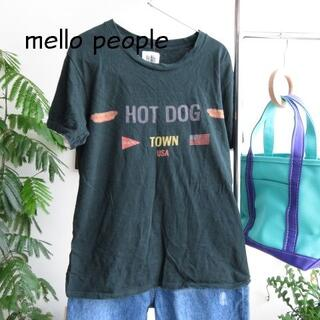 Ron Herman - mellow people メローピープル Tシャツ 緑