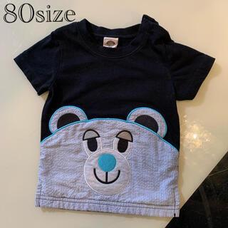 アナップキッズ(ANAP Kids)のANAPくまTシャツ80(Tシャツ)