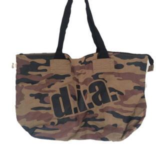 ダイア(d.i.a)のd.i.a.♡2011の布袋 ロゴビッグプリントキャンバストートバッグ(ショップ袋)