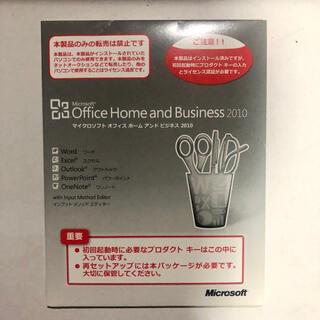 マイクロソフト(Microsoft)のオフィス2010 Office Home and Business 2010 (その他)