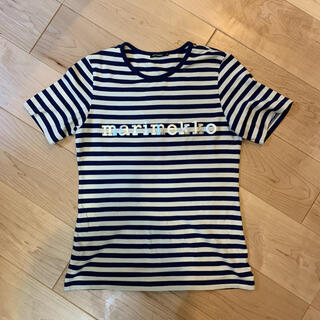 マリメッコ(marimekko)のmarimekko ロゴTシャツ(Tシャツ(半袖/袖なし))