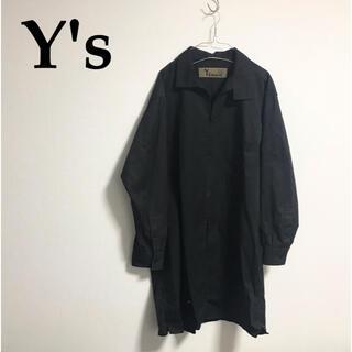 ヨウジヤマモト(Yohji Yamamoto)のY's bang on NO.15 ファスナーシャツ コート ヨウジヤマモト(シャツ)