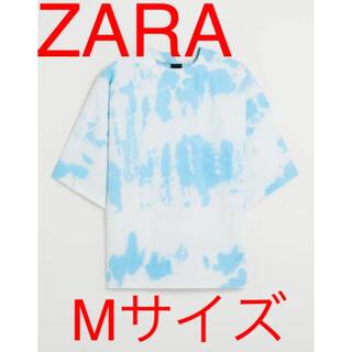 ZARA - ZARA タイダイプリントスウェットシャツ