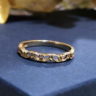 ジュエリーツツミ(JEWELRY TSUTSUMI)のジュエリーツツミ K10 ダイヤモンド リング(リング(指輪))