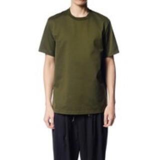 カズユキクマガイアタッチメント(KAZUYUKI KUMAGAI ATTACHMENT)のKAZUYUKI KUMAGAI ギザシルキー天竺クルーネック Tシャツ(Tシャツ/カットソー(半袖/袖なし))