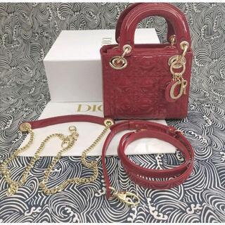 Dior - Dior レディディオール バッグ カナージュ