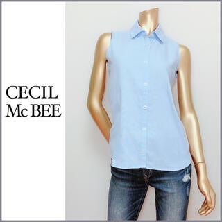 セシルマクビー(CECIL McBEE)のCECIL McBEE ノースリーブ シャツ*ワンウェイ バイバイ ムルーア(シャツ/ブラウス(半袖/袖なし))