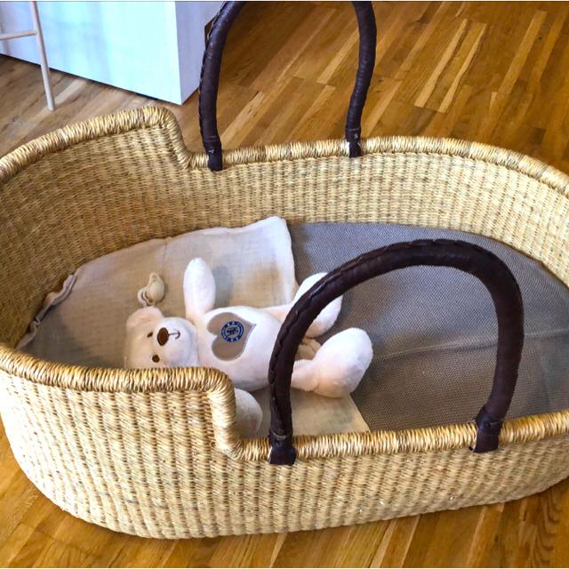 Bonpoint(ボンポワン)のYUN様専用 クーファン ボルガバスケット キッズ/ベビー/マタニティの寝具/家具(その他)の商品写真