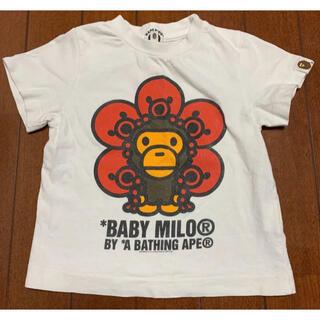 アベイシングエイプ(A BATHING APE)のBape Baby milo 90(Tシャツ/カットソー)