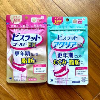 コバヤシセイヤク(小林製薬)の専用アクリアのみ ビスラット ゴールドEX アクリアEX むくみ 脂肪 更年期(ダイエット食品)