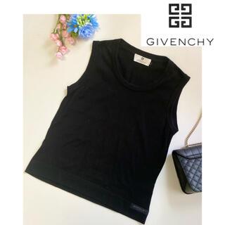 ジバンシィ(GIVENCHY)の⭐︎美品⭐︎GIVENCHY ジバンシー サマーニット M ロゴあり(Tシャツ(半袖/袖なし))
