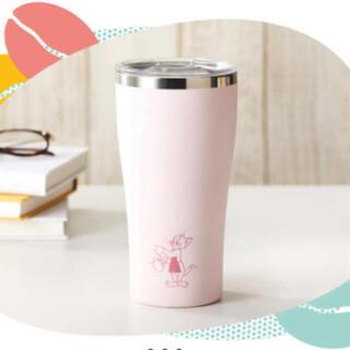 タリーズコーヒー(TULLY'S COFFEE)のタリーズ トムとジェリー ステンレスタンブラー(ピンク)オンライン限定(タンブラー)