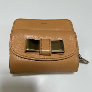 Chloe - クロエ オレンジ折りたたみ財布