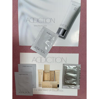 アディクション(ADDICTION)のアディクション メイクアップベース、ファンデーション 4点(サンプル/トライアルキット)