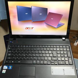 Acer - acer ノートパソコンWindows7 15.6 美品