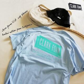 新品 US別注 CLARK FOAM クラークフォーム ロゴT L