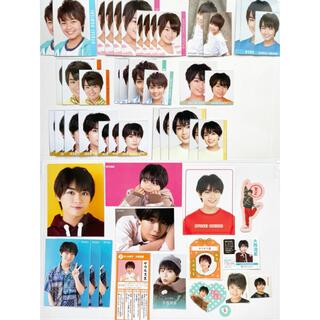 大西流星 なにわ男子 Myojo 9月号 データカード デタカ メッセージカード(アイドルグッズ)
