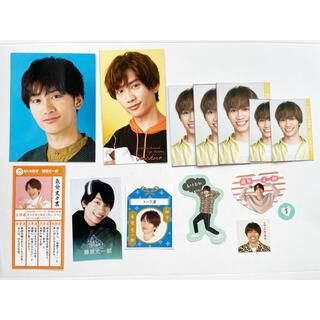 藤原丈一郎 なにわ男子 Myojo 9月号データカード デタカ メッセージカード(アイドルグッズ)