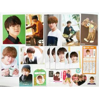 大橋和也 なにわ男子 Myojo 9月号 データカード デタカ メッセージカード(アイドルグッズ)