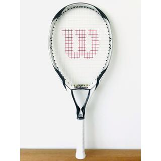 ウィルソン(wilson)の美品/ウィルソン『ケーファクター Kスリー』テニスラケット/G2/シルバー/軽量(ラケット)