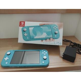 任天堂 - 【7月中限定特価】Nintendo Switch ライト本体 ターコイズブルー