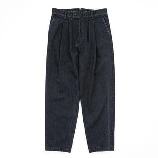 SUNSEA - stein21ss Two Tuck Denim Trousers