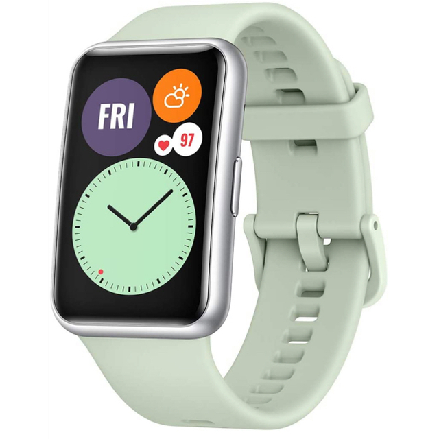 HUAWEI(ファーウェイ)のファーウエイwatch fit メンズの時計(腕時計(デジタル))の商品写真