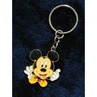 ディズニー(Disney)のミッキー キーホルダー〔I/210721〕(キーホルダー)