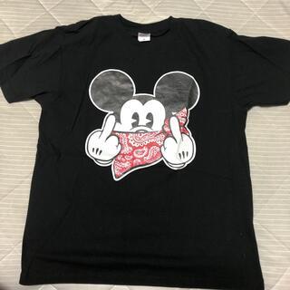 ミッキーマウス(ミッキーマウス)のミッキーマウス パロディ Tシャツ Mサイズ 新品未使用(Tシャツ/カットソー(半袖/袖なし))