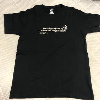 ミッキーマウス(ミッキーマウス)のミッキーマウス Tシャツ UNIQLO Lサイズ(Tシャツ/カットソー(半袖/袖なし))