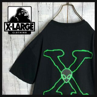 XLARGE - 【入手困難☆Xファイルコラボ☆エイリアン】エクストララージ Tシャツ Lサイズ