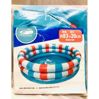 家庭用 ビニール プール 約83×20センチ 子供用 丸型プール 水遊び