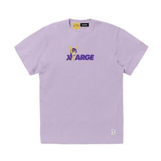XLARGE - fr2 xlarge コラボ Tシャツ パープル