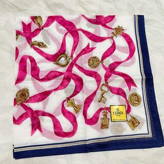 フェンディ(FENDI)のFENDI ハンカチ リボン スカーフ 未使用(ハンカチ)