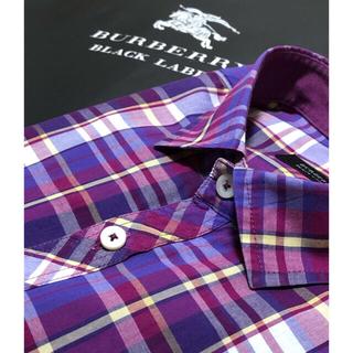 BURBERRY - 一回着用【超美品】バーバリーブラックレーベル 半袖シャツ4