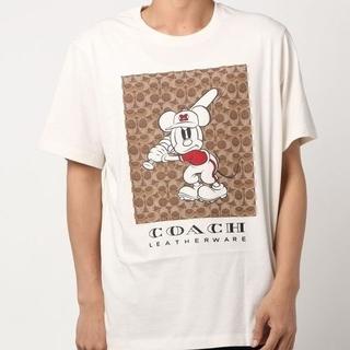 コーチ(COACH)の【COACH★3939】コーチ×ディズニー メンズ半袖Tシャツ 新品(Tシャツ/カットソー(半袖/袖なし))