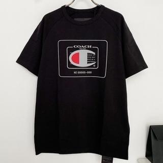 コーチ(COACH)の【COACH★5918】コーチ×チャンピオン メンズ半袖Tシャツ 新品(Tシャツ/カットソー(半袖/袖なし))
