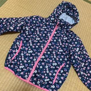 ニシマツヤ(西松屋)の大幅値下げ 花柄パーカー(ジャケット/上着)