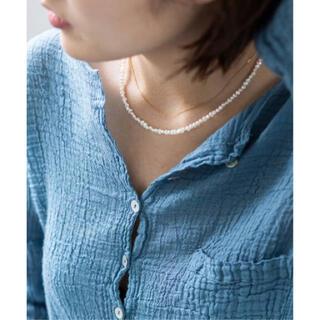IENA - 【新品】IENA PEARL ネックレス 40cm