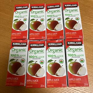 コストコ(コストコ)のコストコ オーガニック アップルジュース 8本セット(ソフトドリンク)