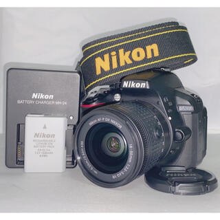 Nikon - 【新品級!!】Nikon D5300 AF-P 18-55mm レンズキット