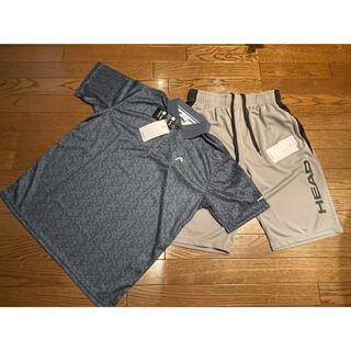 ヘッド(HEAD)のHAED   ヘッド ポロシャツ&ハーフパンツセット メンズ Lサイズ(ウェア)