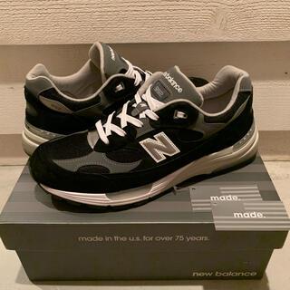 ニューバランス(New Balance)のNEW BALANCE M992EB ブラック 28.5㎝ (スニーカー)