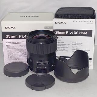 SIGMA - 【付属品完備】SIGMA Art 35mm f1.4 DG HSM Canon用